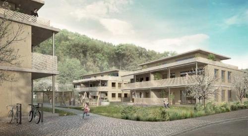 Neubau 4 MFH in Brugg-Lauffohr (AG) 2016 – 2018