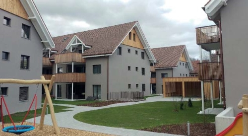 Neubau 4 MFH in Othmarsingen (AG) 2015 – 2017